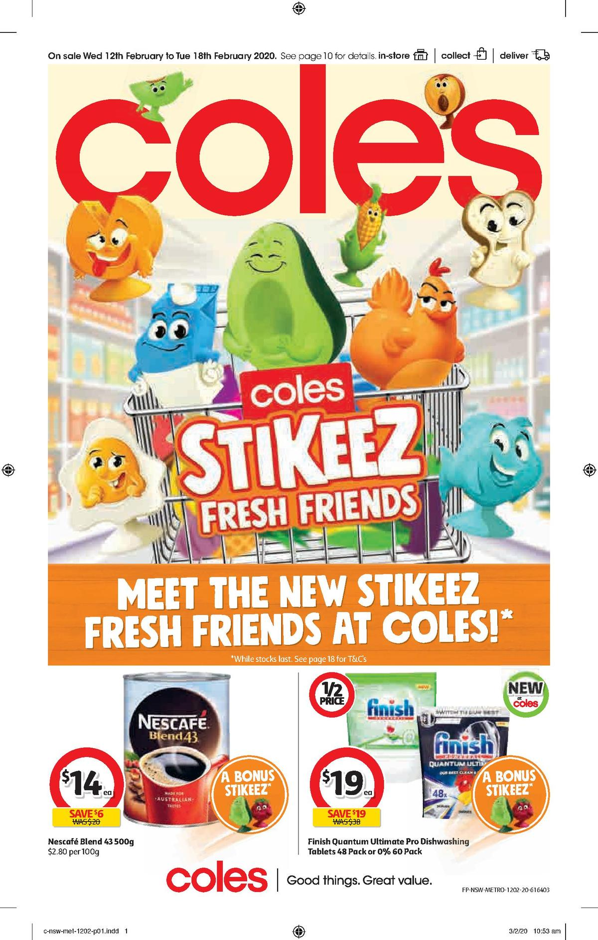 Coles Catalogues from February 12