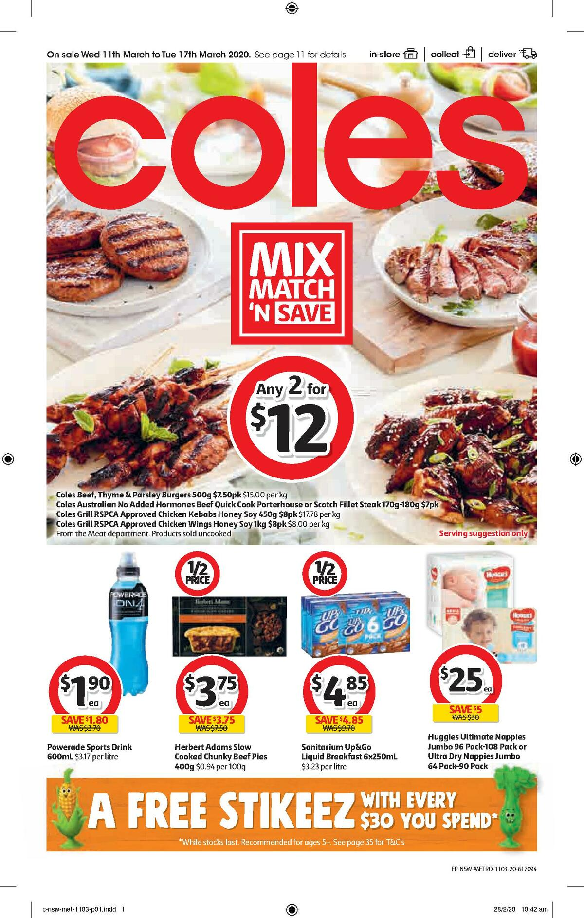 Coles Catalogues from March 11