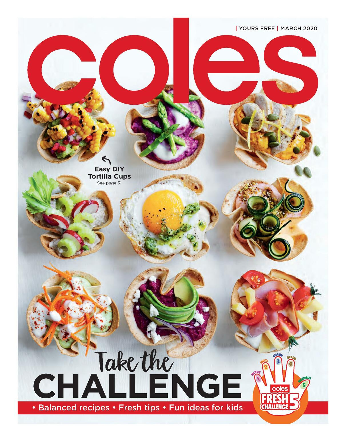 Coles Magazine March Catalogues from March 1