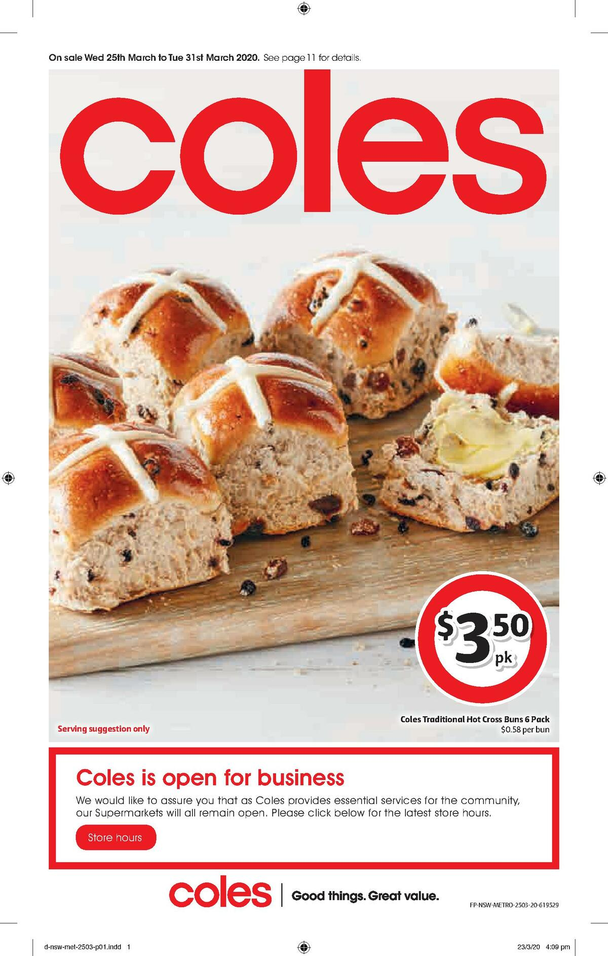Coles Catalogues from March 25