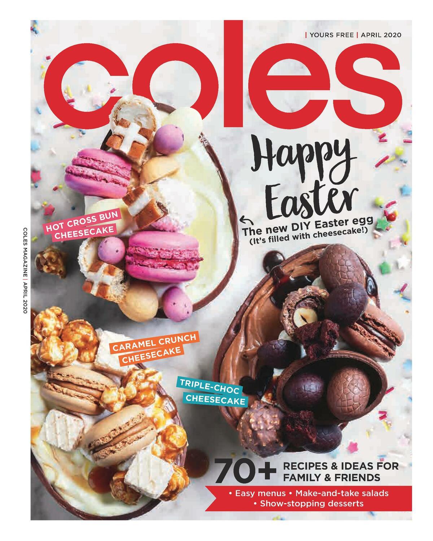 Coles Magazine April Catalogues from April 1