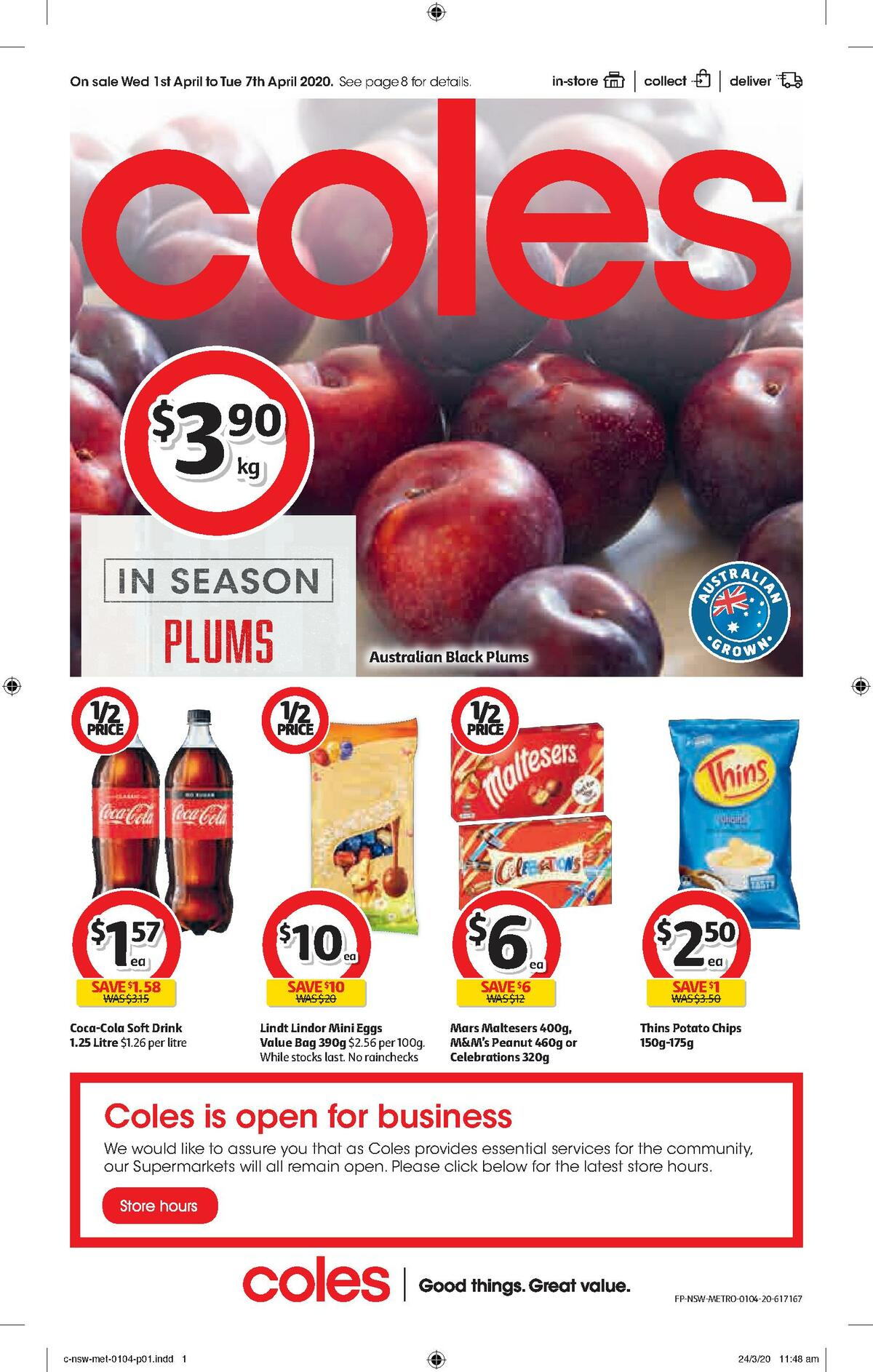 Coles Catalogues from April 1