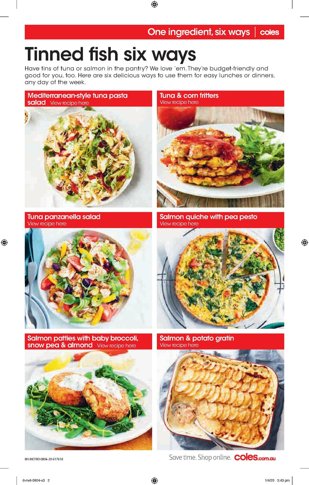 Coles Catalogues from April 8