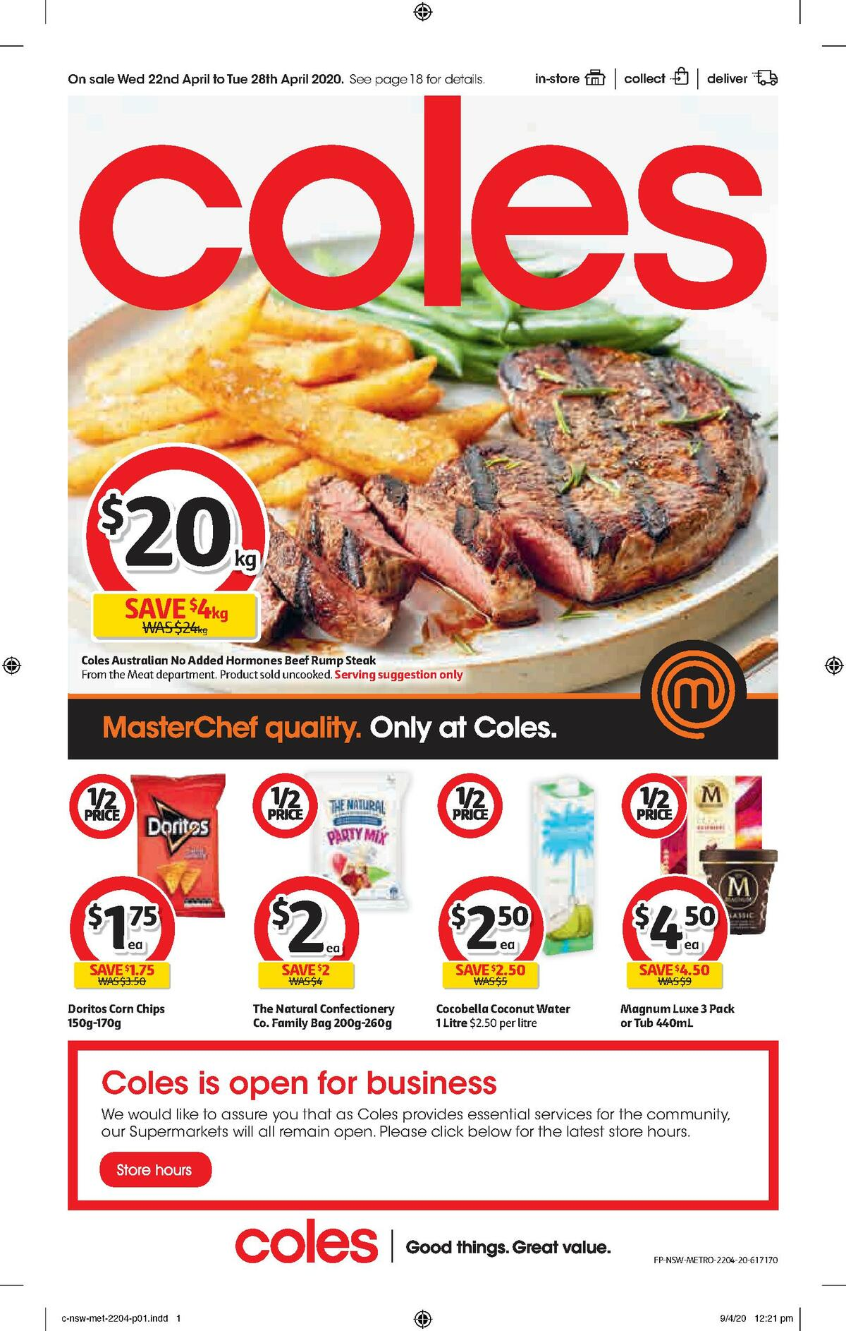 Coles Catalogues from April 22
