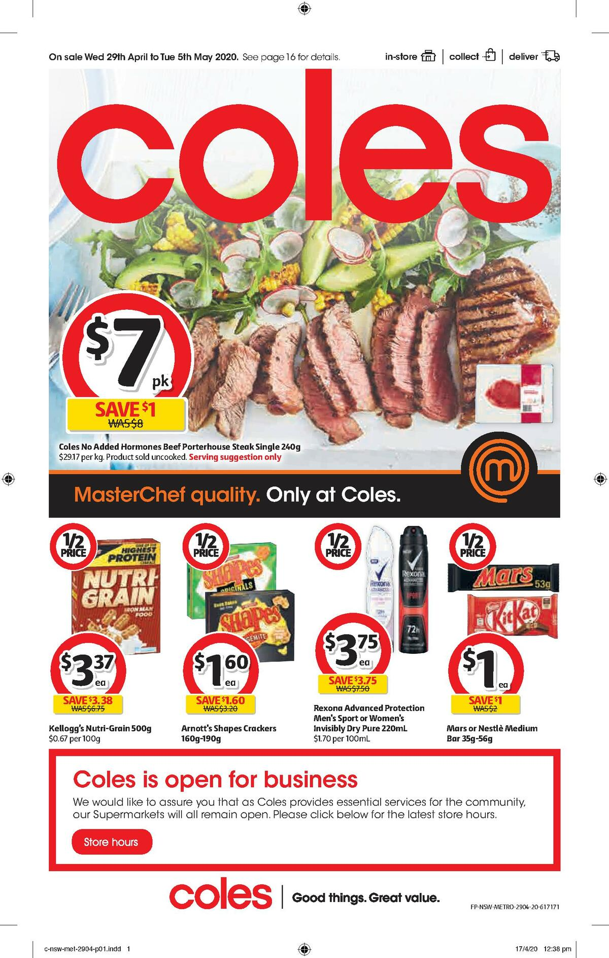 Coles Catalogues from April 29