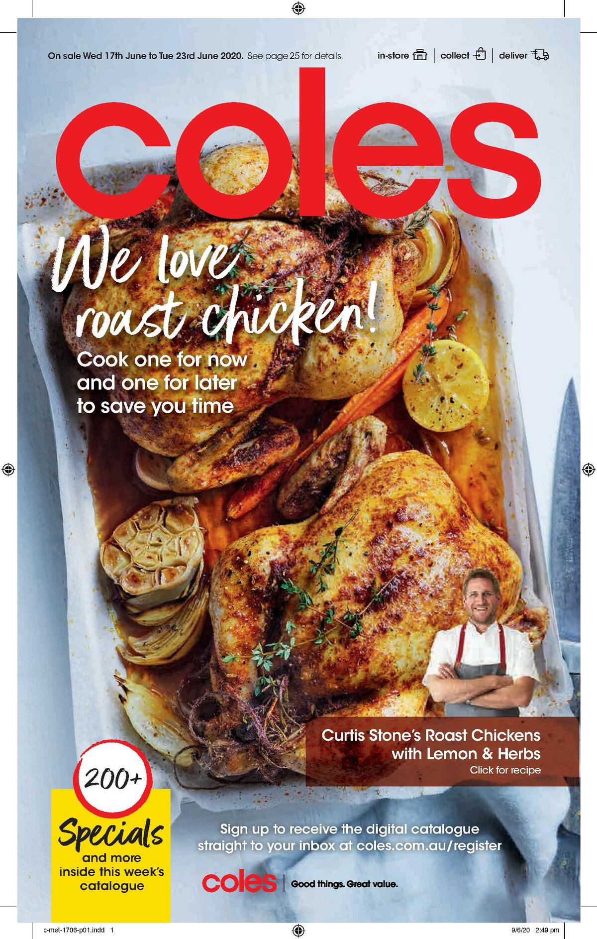 Coles Catalogues from June 17