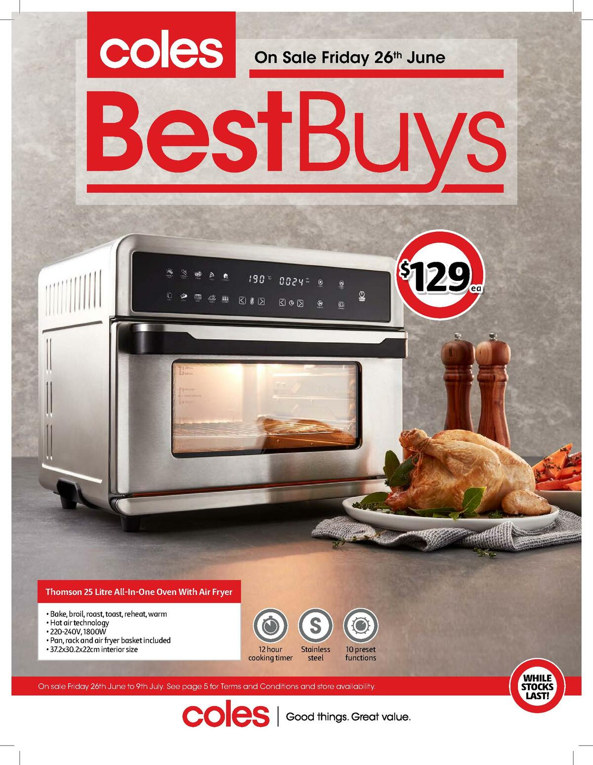 Coles Best Buys Catalogues from June 26