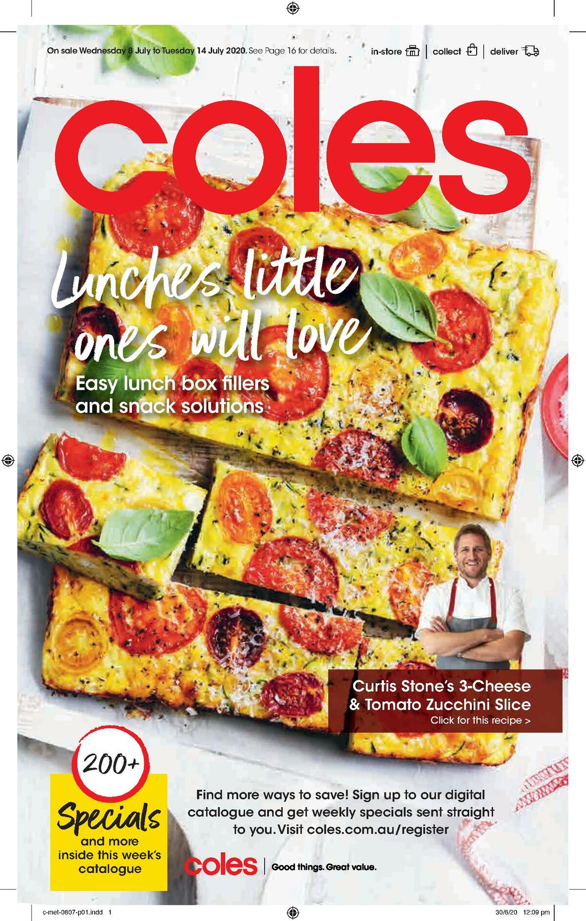 Coles Catalogues from July 8