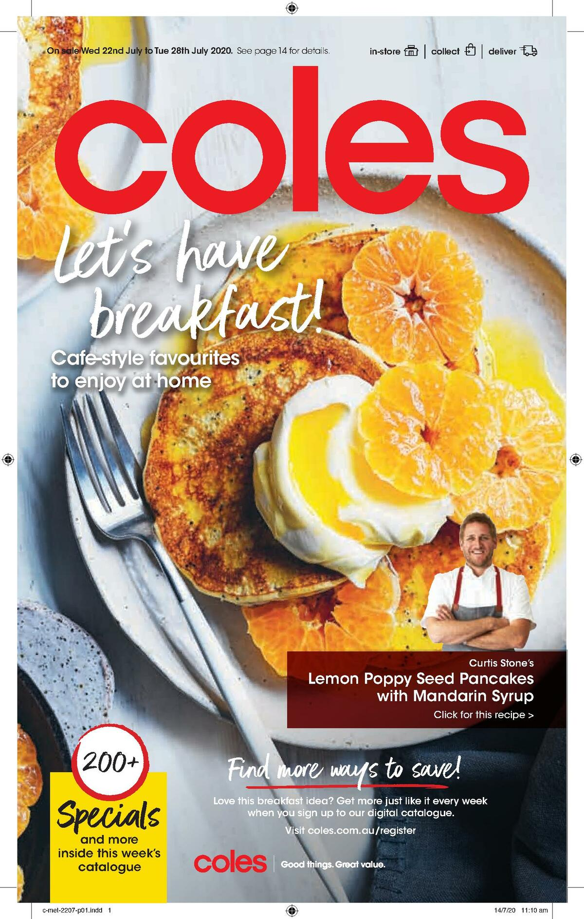 Coles Catalogues from July 22