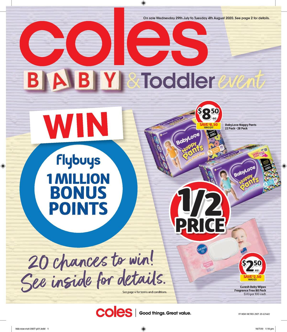 Coles Health & Beauty Catalogues from July 29