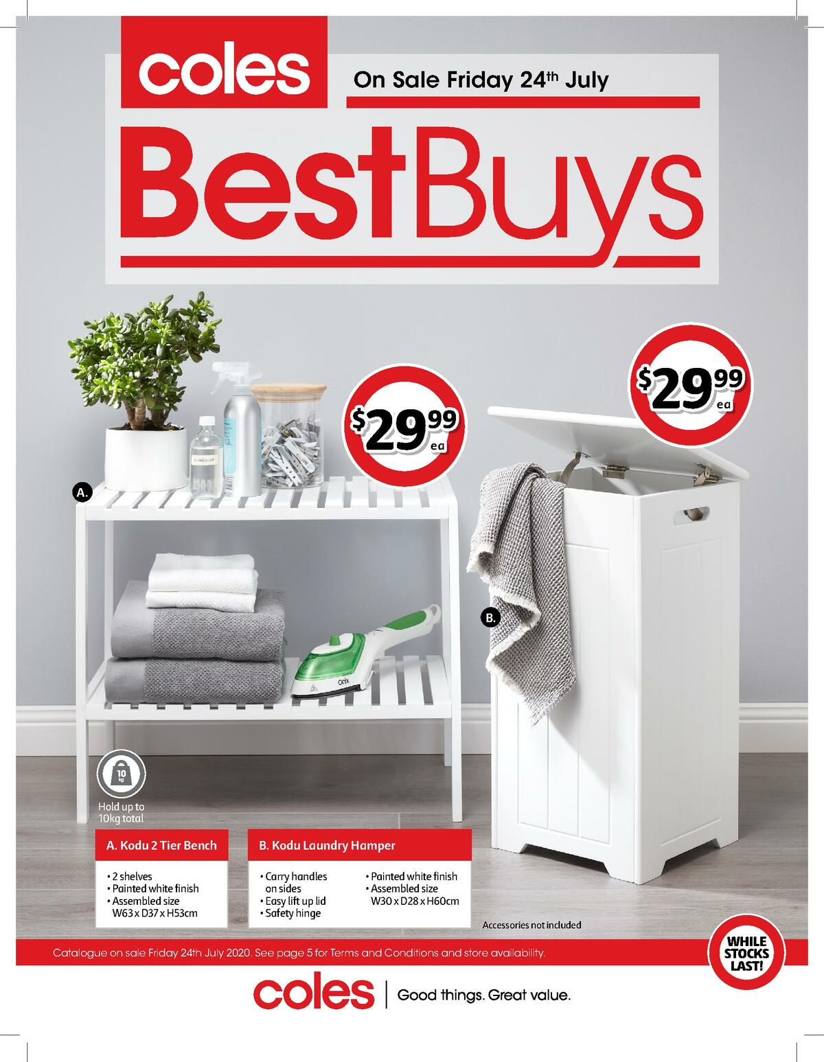 Coles Best Buys Catalogues from July 24