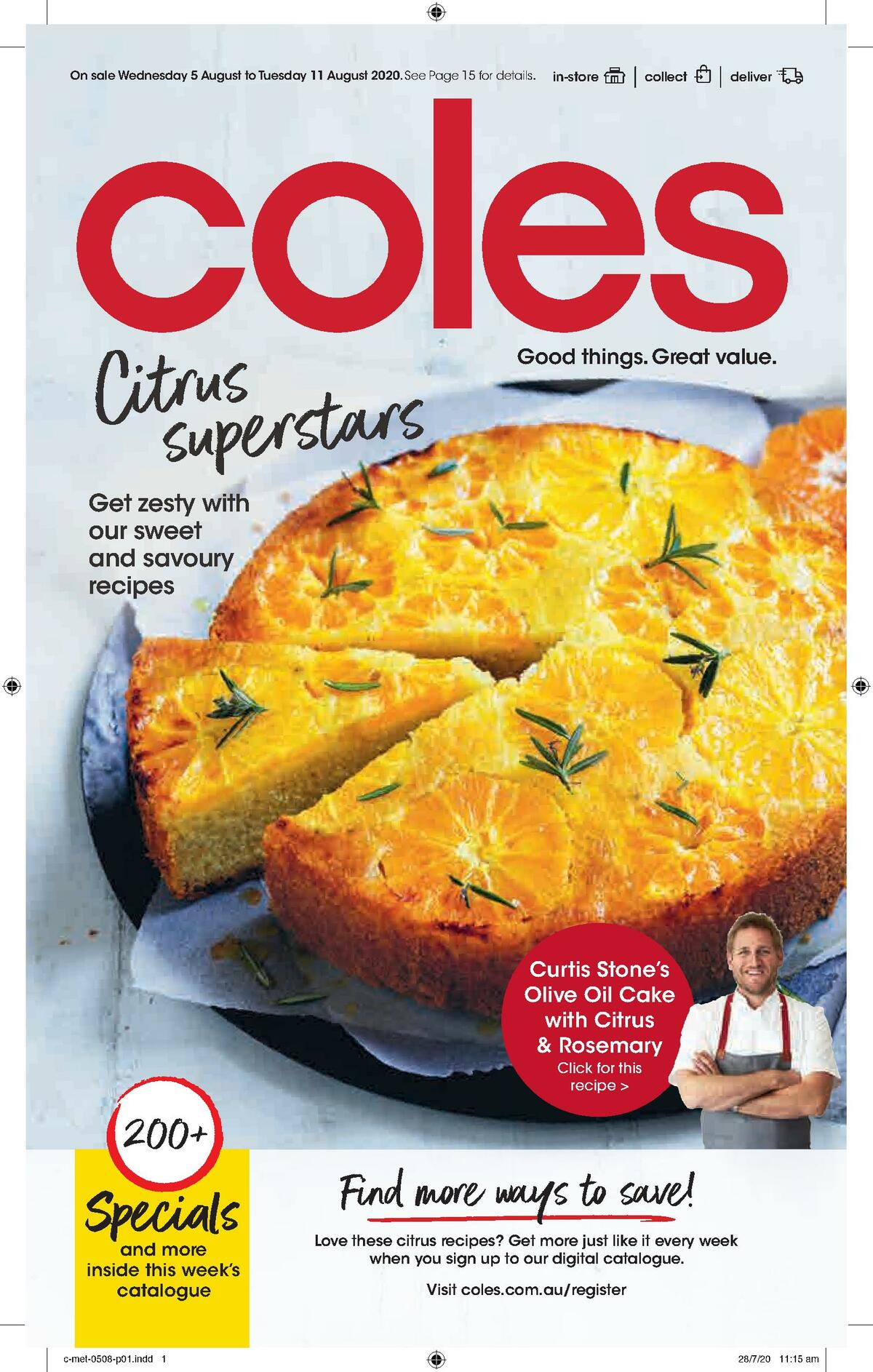 Coles Catalogues from August 5
