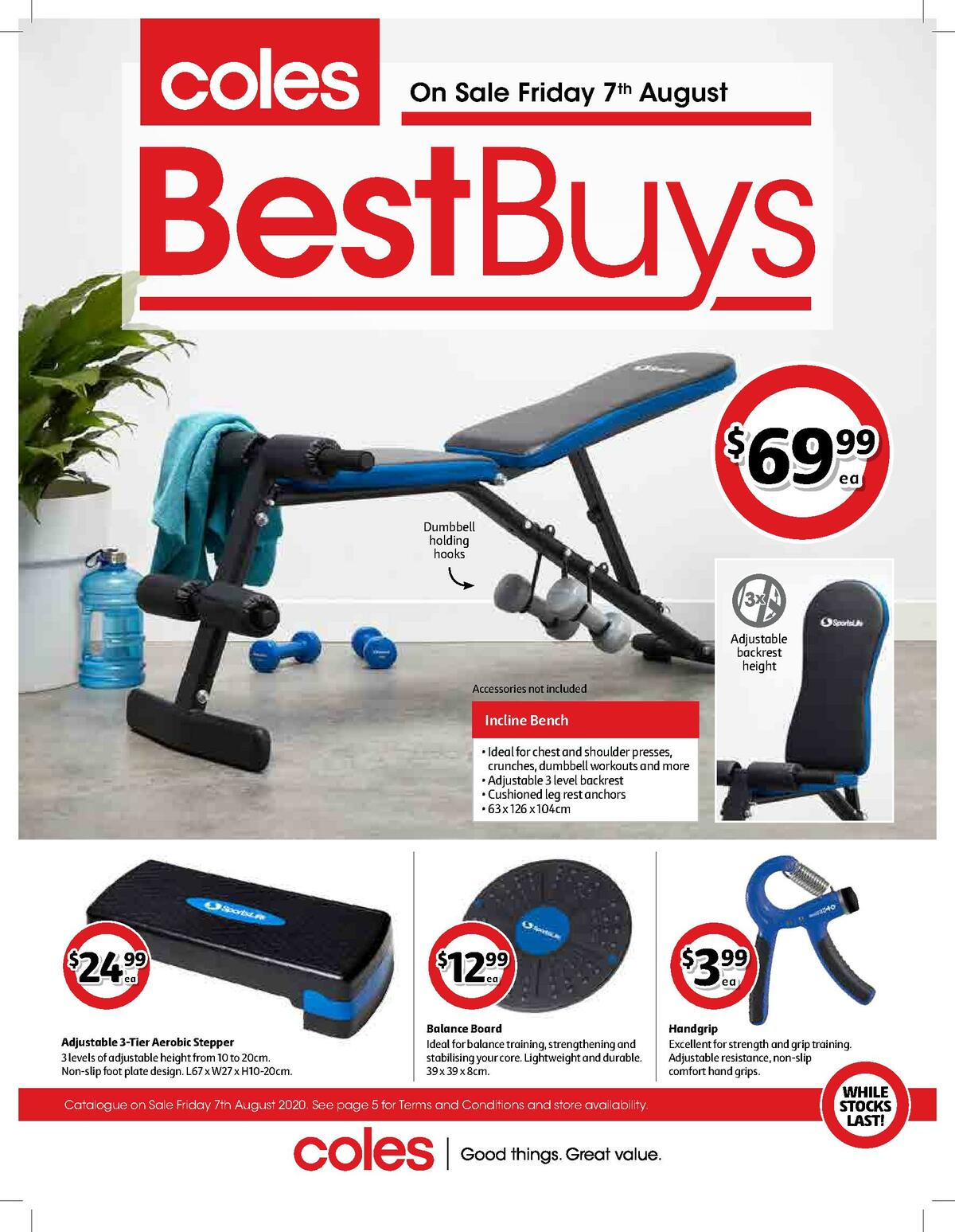 Coles Best Buys Catalogues from August 7