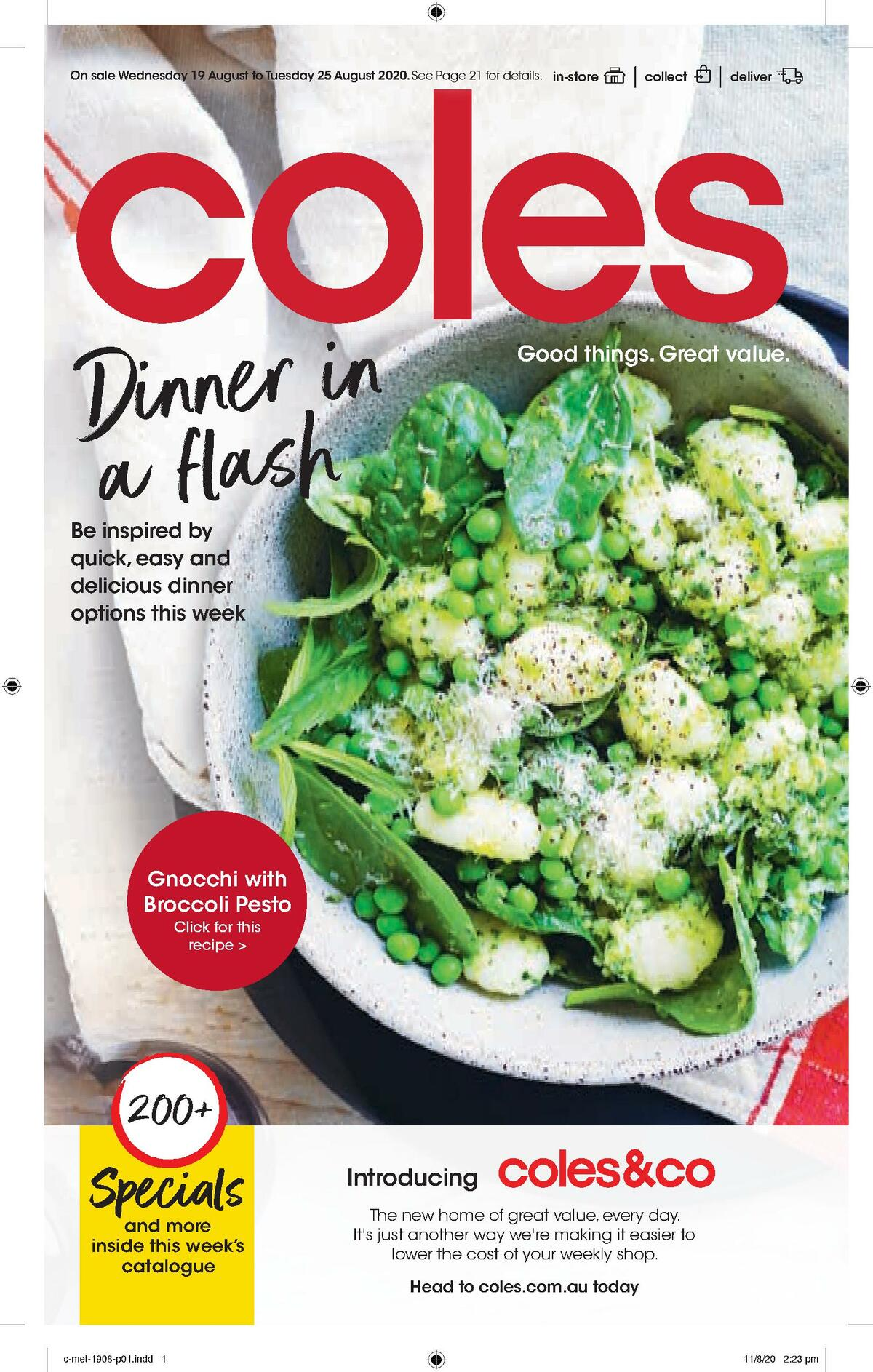 Coles Catalogues from August 19