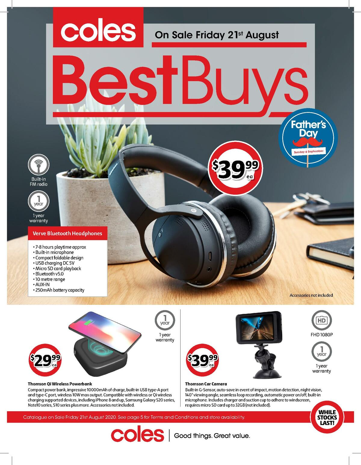 Coles Best Buys Catalogues from August 21
