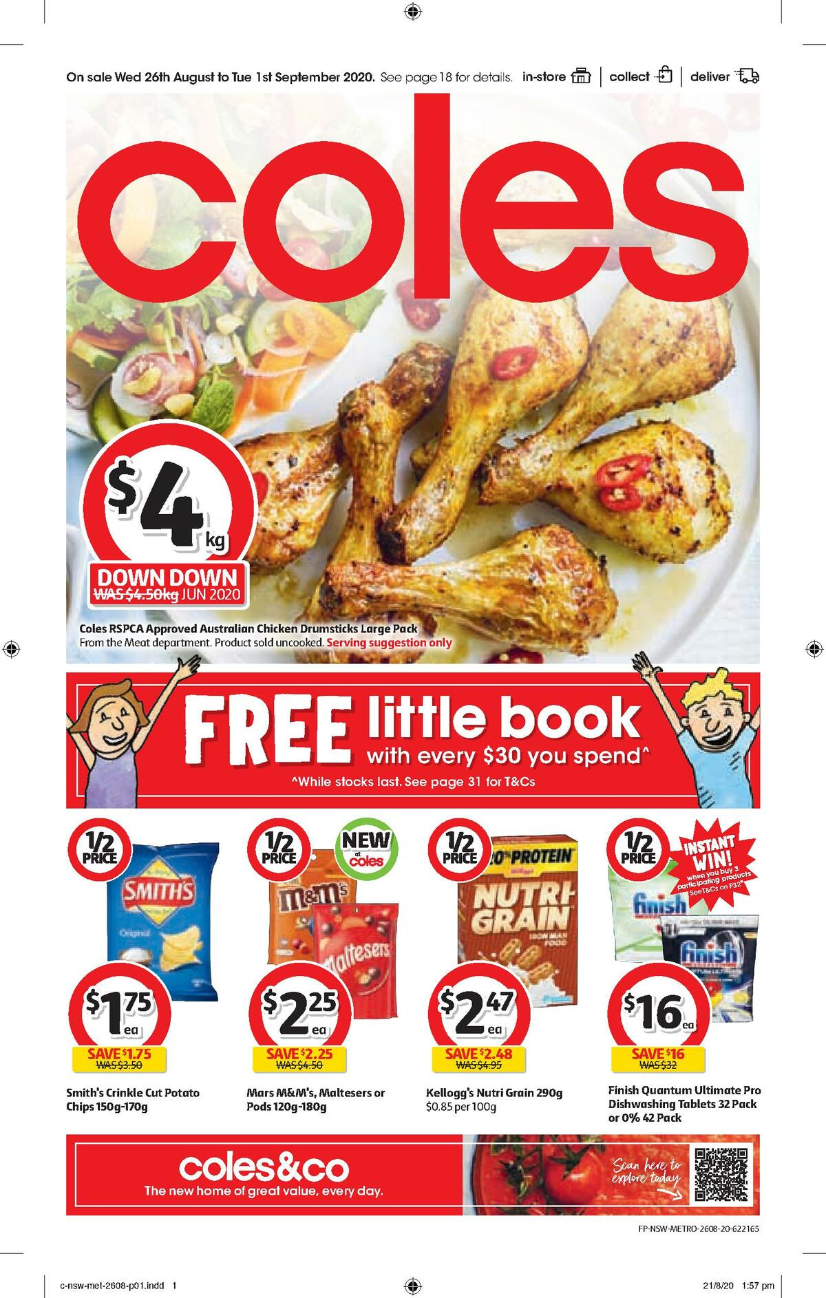 Coles Catalogues from August 26