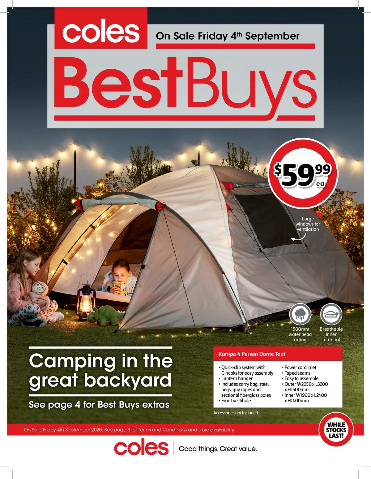 Coles Best Buys Catalogues from September 4