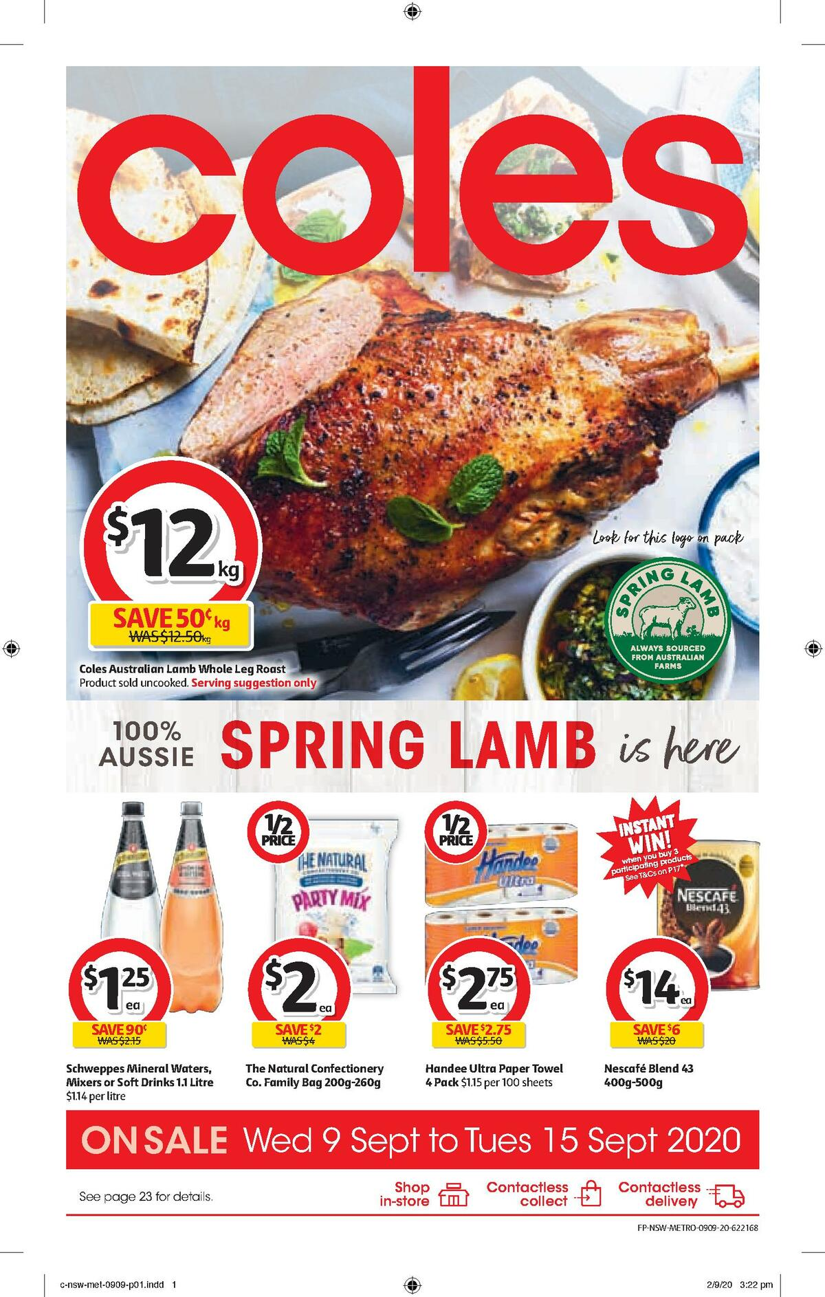 Coles Catalogues from September 9