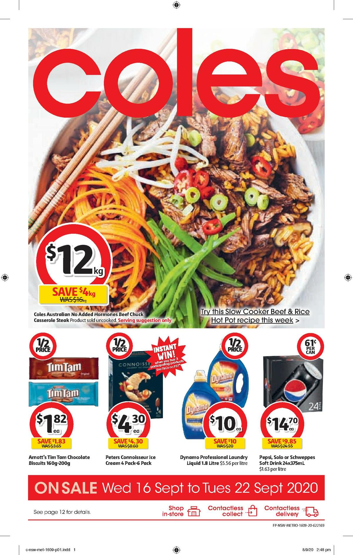 Coles Catalogues from September 16