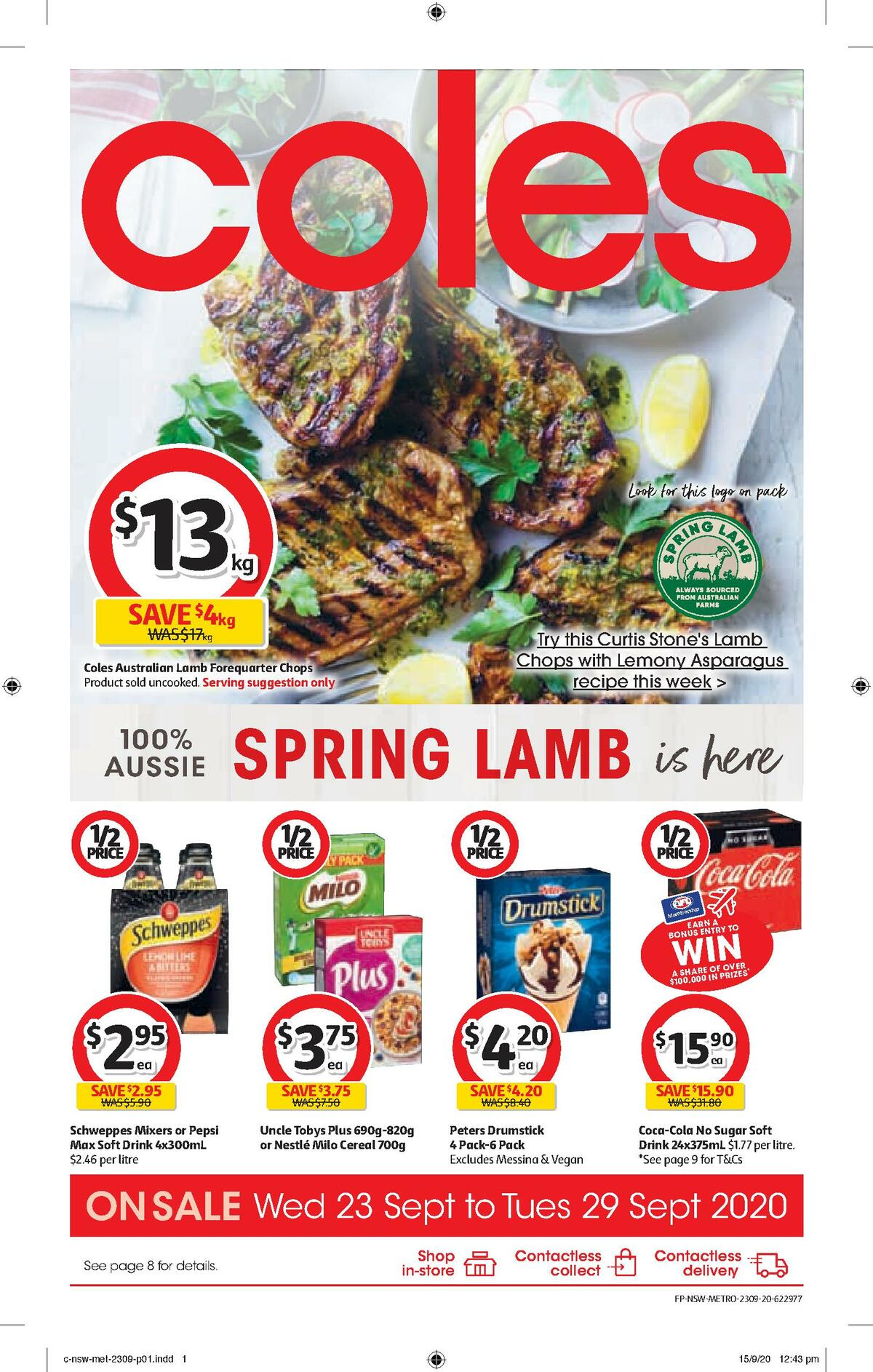 Coles Catalogues from September 23