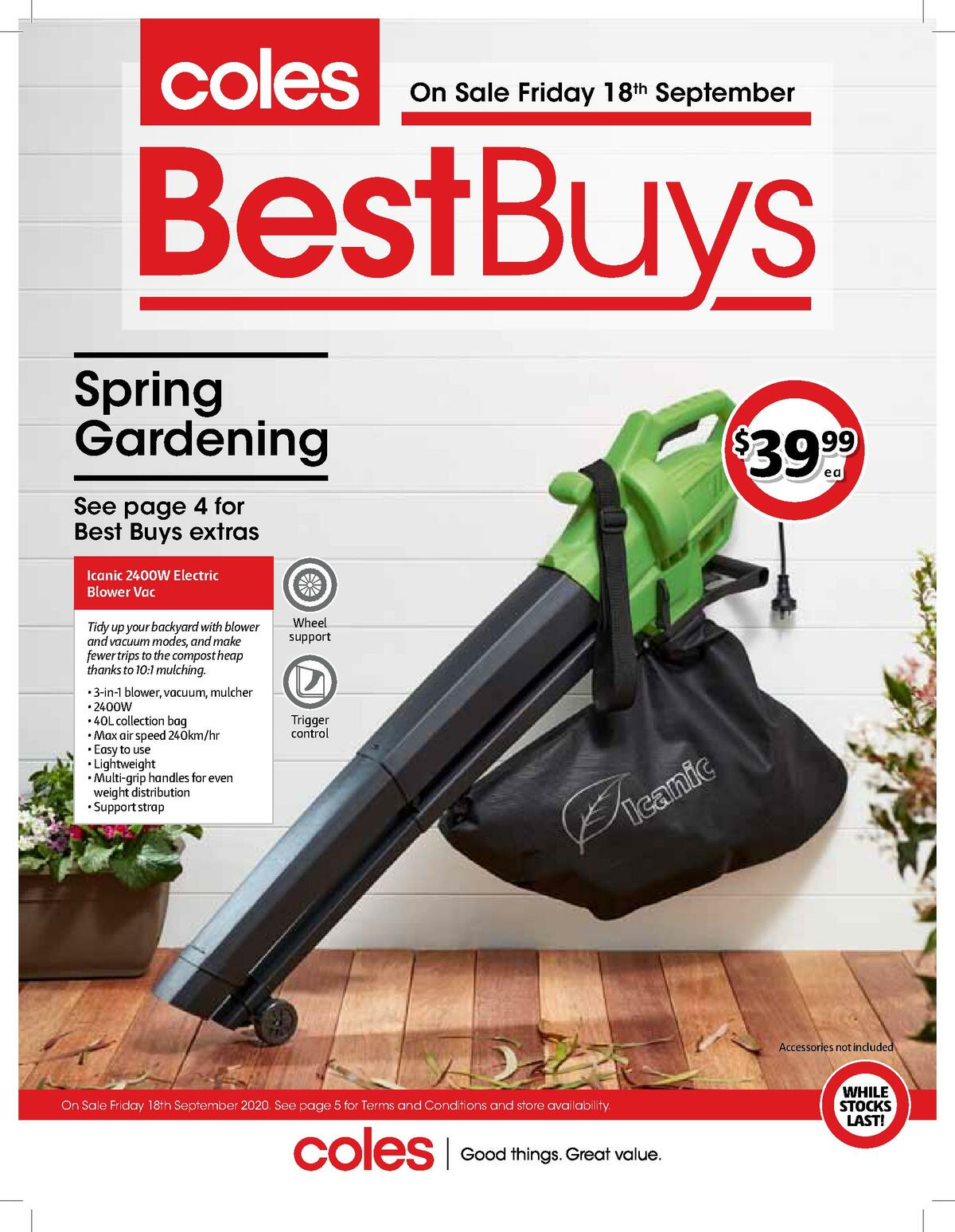 Coles Best Buys Catalogues from September 18