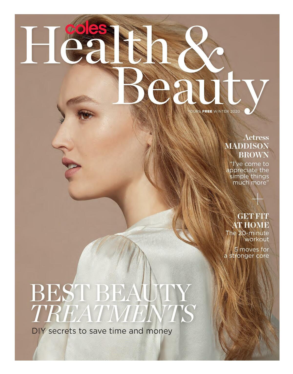 Coles Magazine Health & Beauty Winter Catalogues from September 28