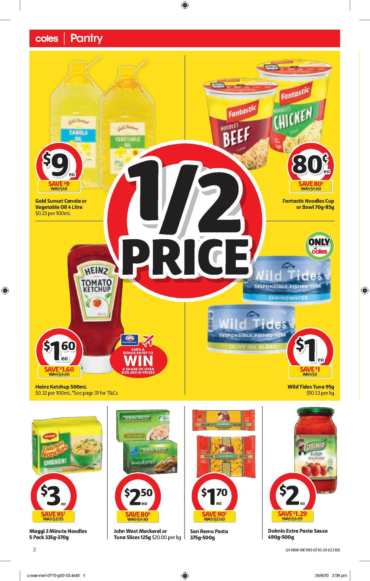 Coles Catalogues from October 7