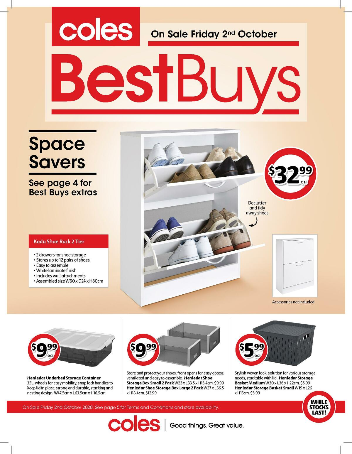 Coles Best Buys Catalogues from October 2