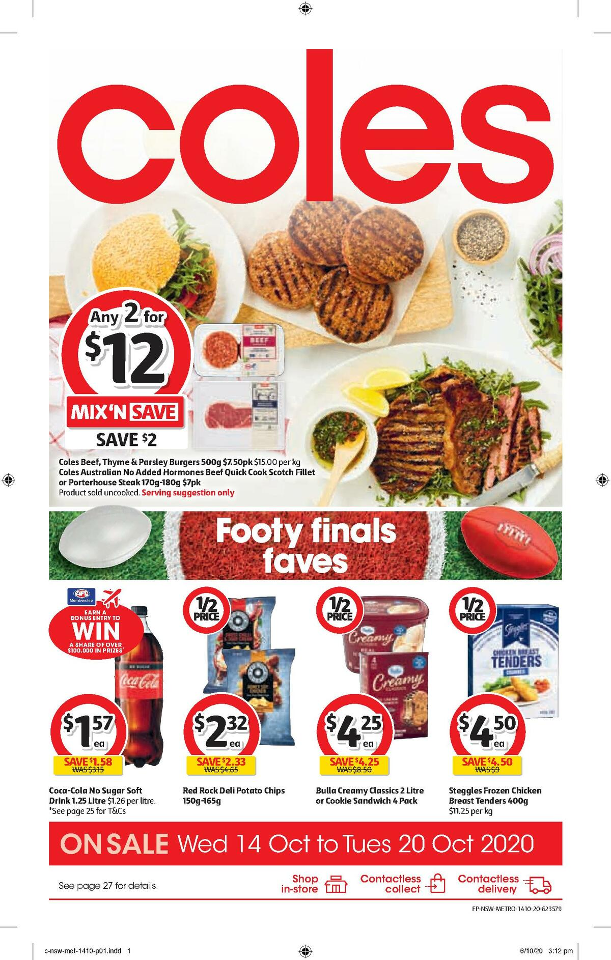 Coles Catalogues from October 14