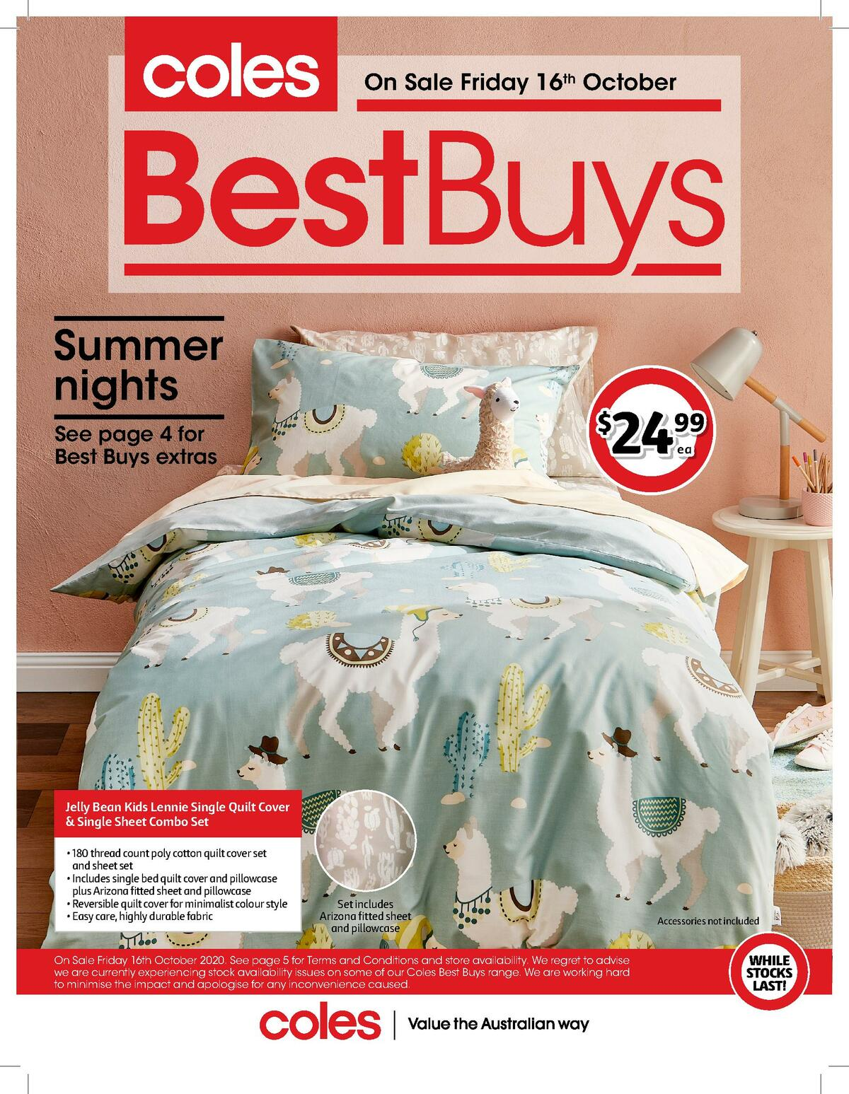 Coles Best Buys Catalogues from October 16