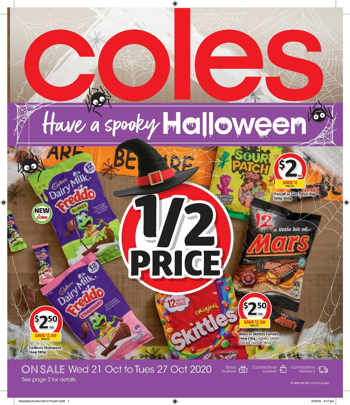 Coles Halloween Catalogue Catalogues from October 21