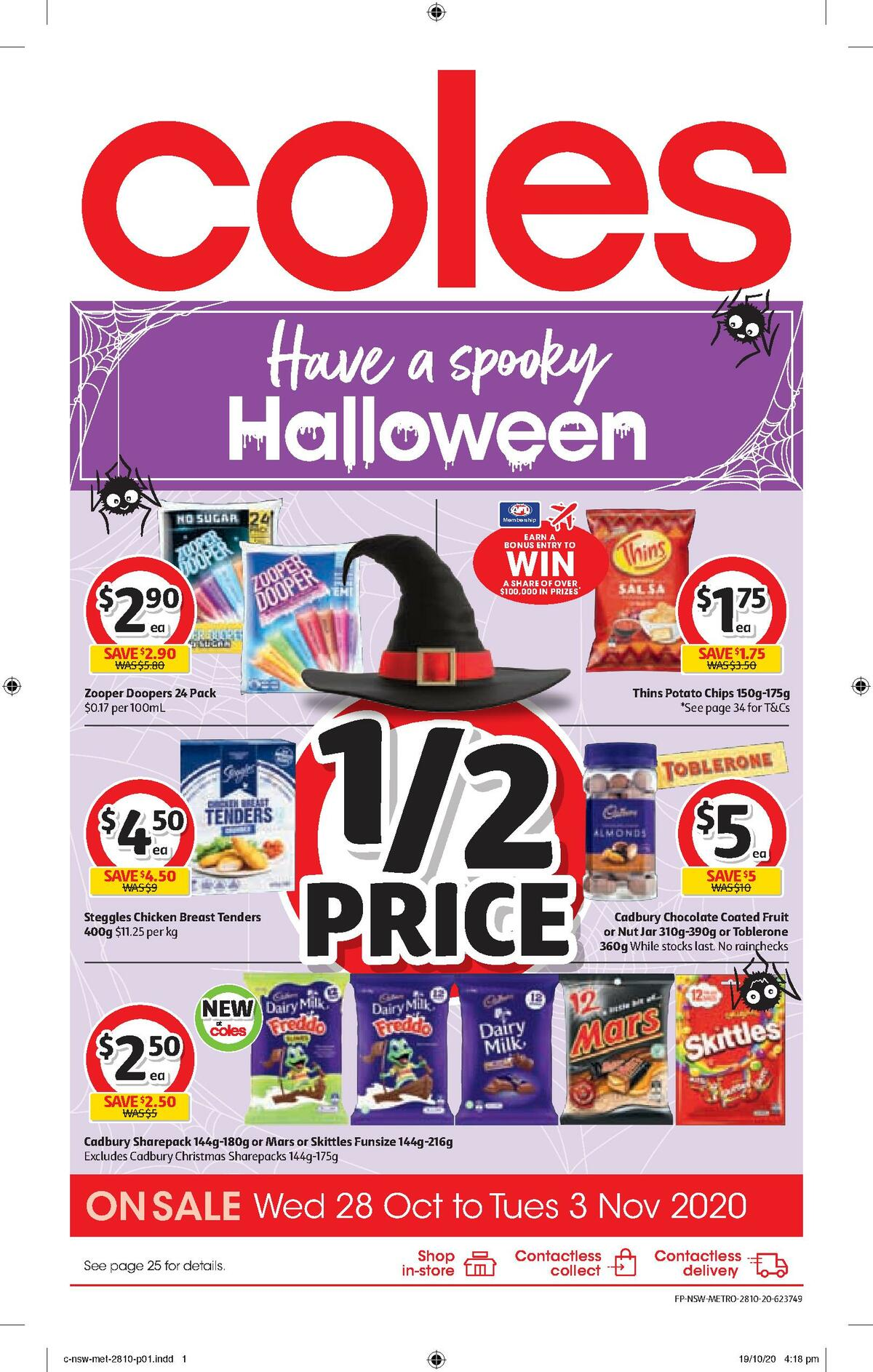 Coles Catalogues from October 28