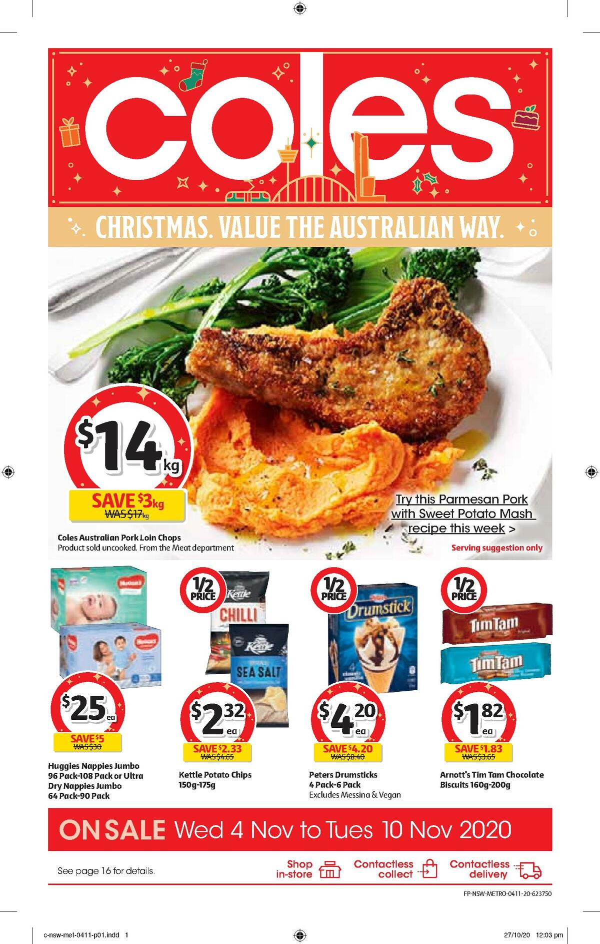 Coles Catalogues from November 4
