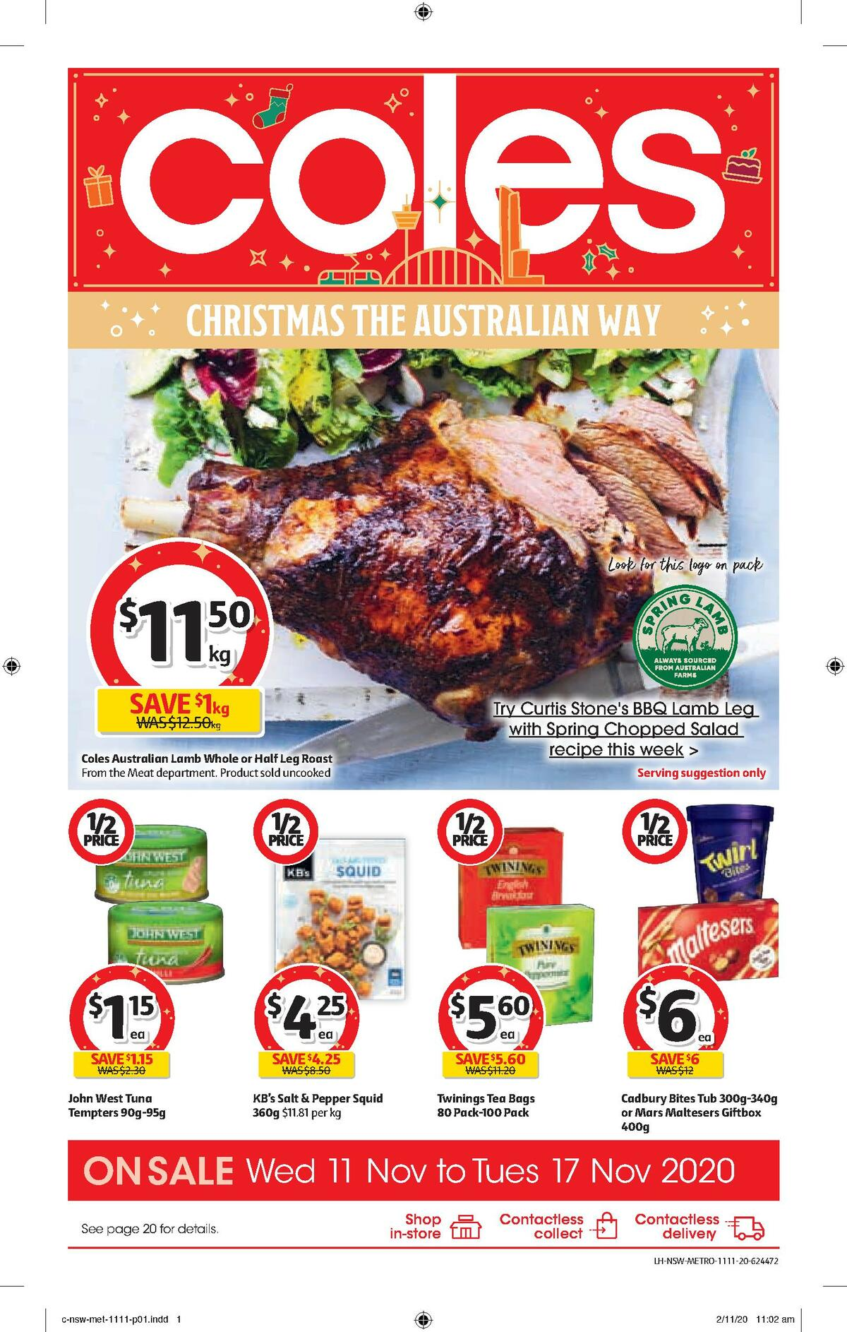 Coles Catalogues from November 11