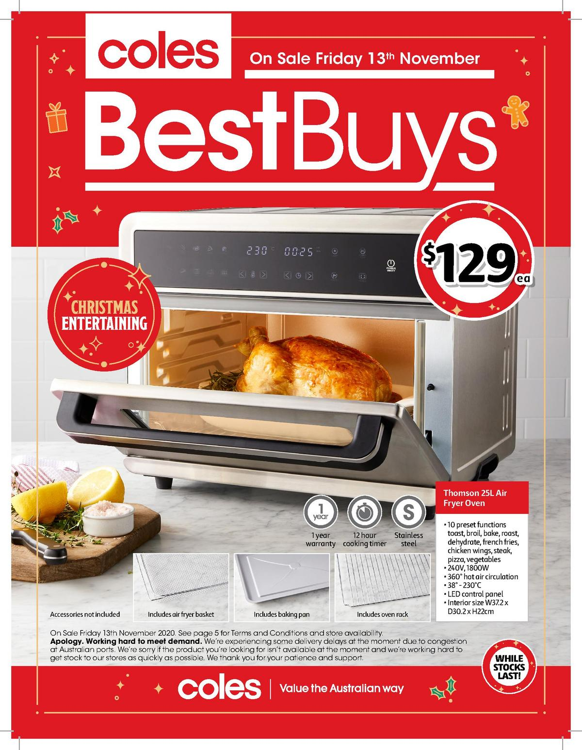 Coles Best Buys Catalogues from November 13