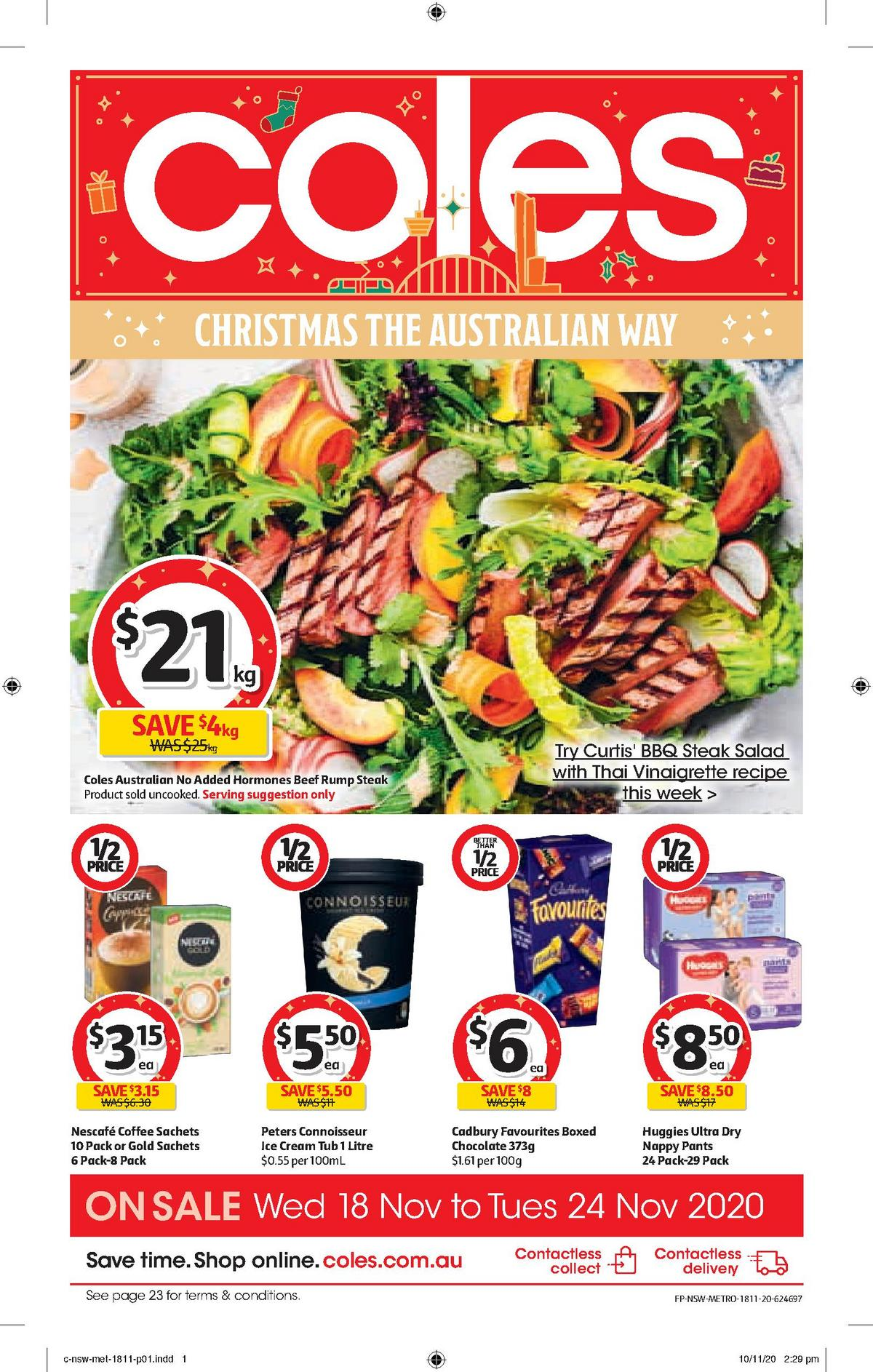Coles Catalogues from November 18