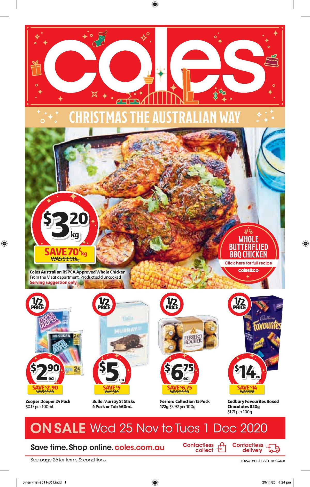 Coles Catalogues from November 25