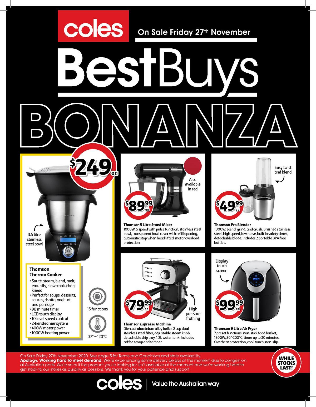 Coles Best Buys Catalogues from November 27