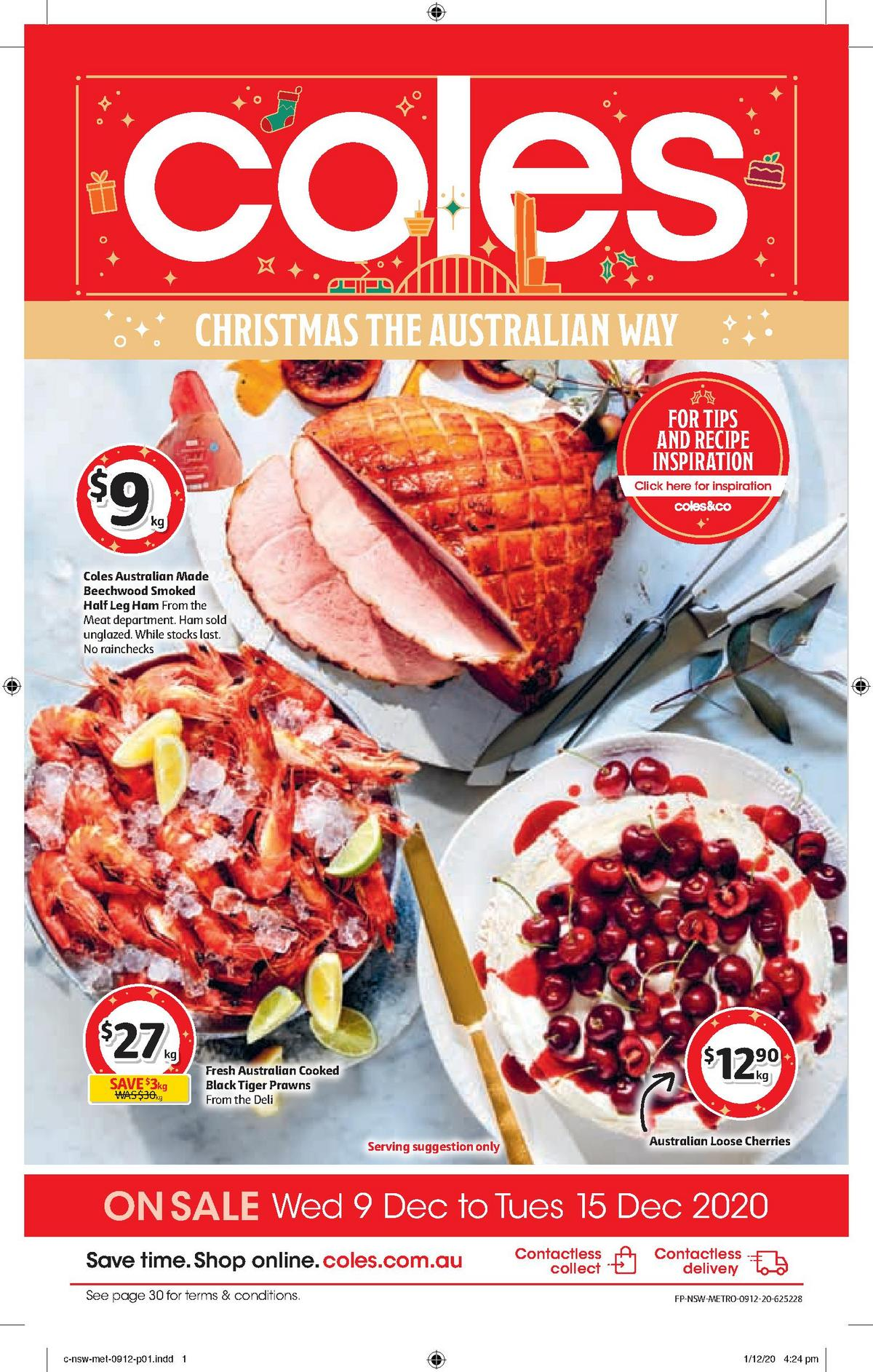 Coles Catalogues from December 9