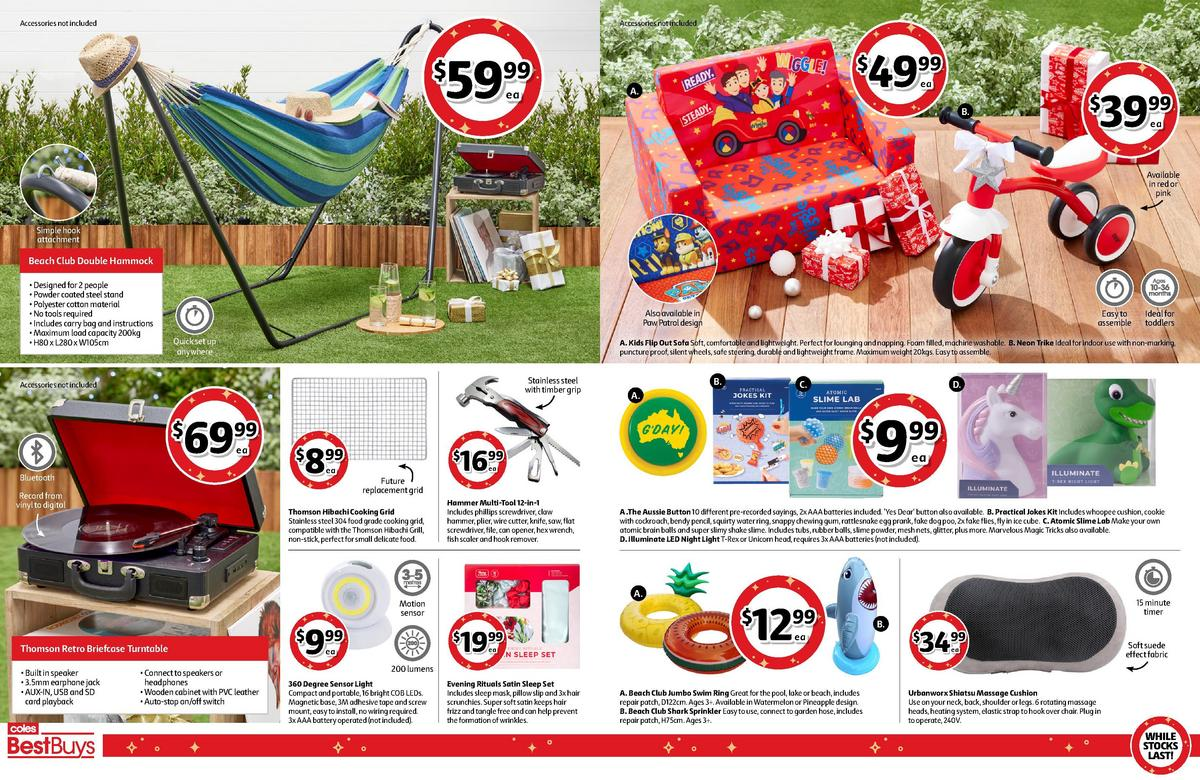 Coles Best Buys Catalogues from December 11