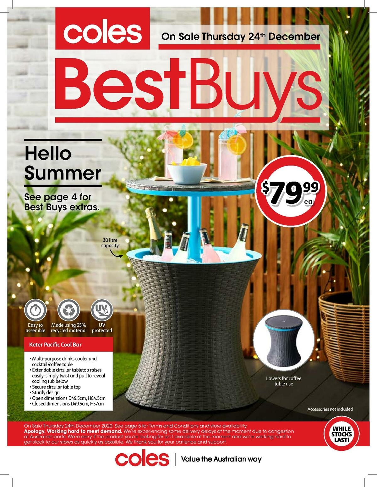 Coles Best Buys Catalogues from December 24