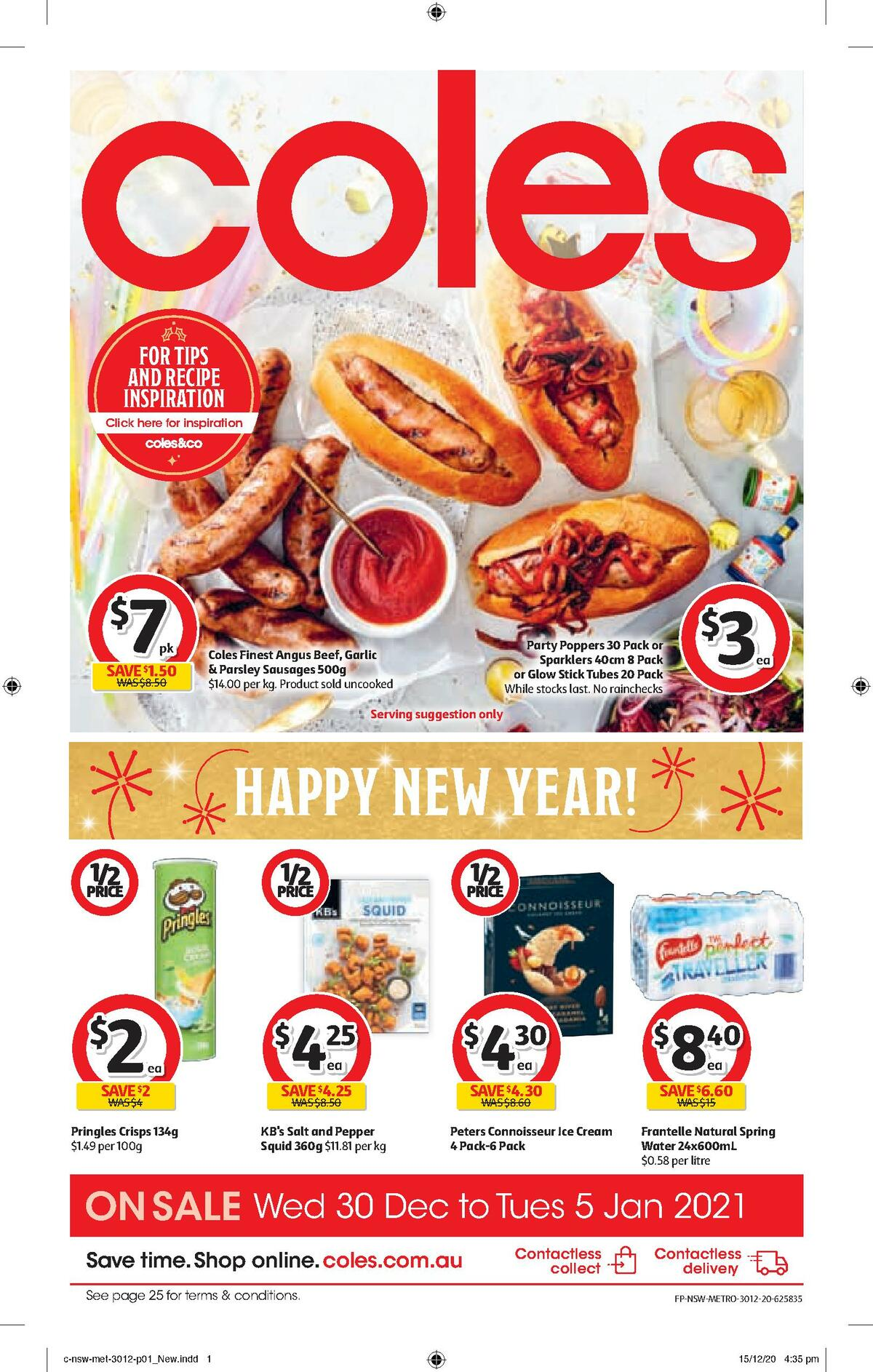 Coles Catalogues from December 30