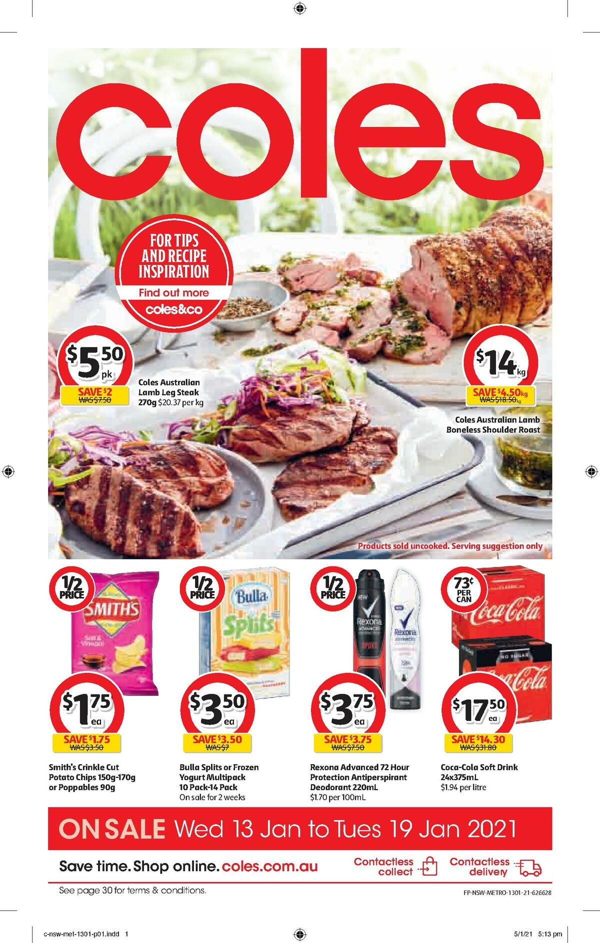 Coles Catalogues from January 13