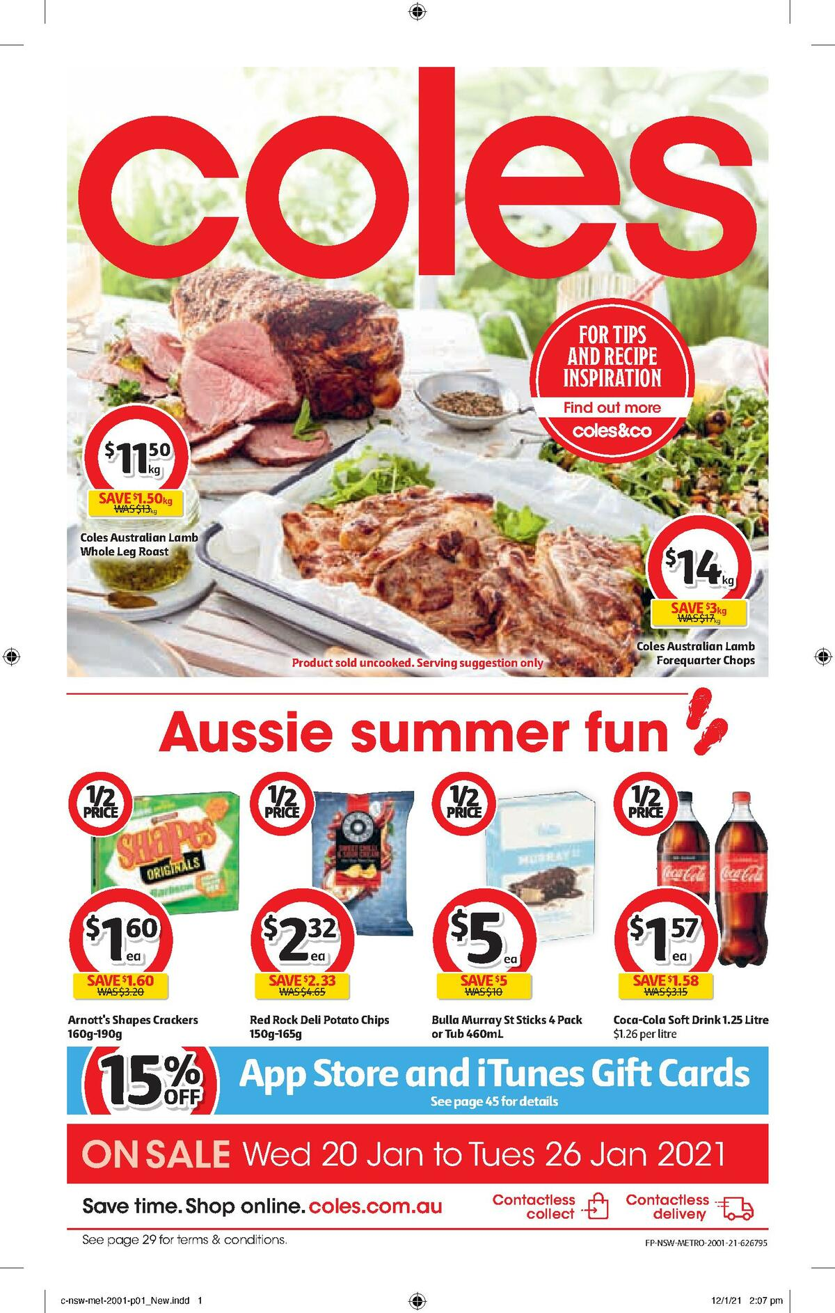 Coles Catalogues from January 20