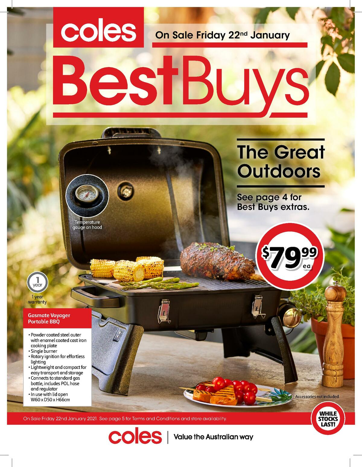 Coles Best Buys Catalogues from January 22
