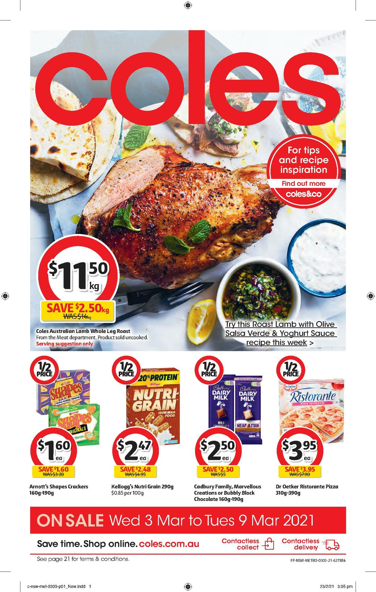 Coles Catalogues from March 3
