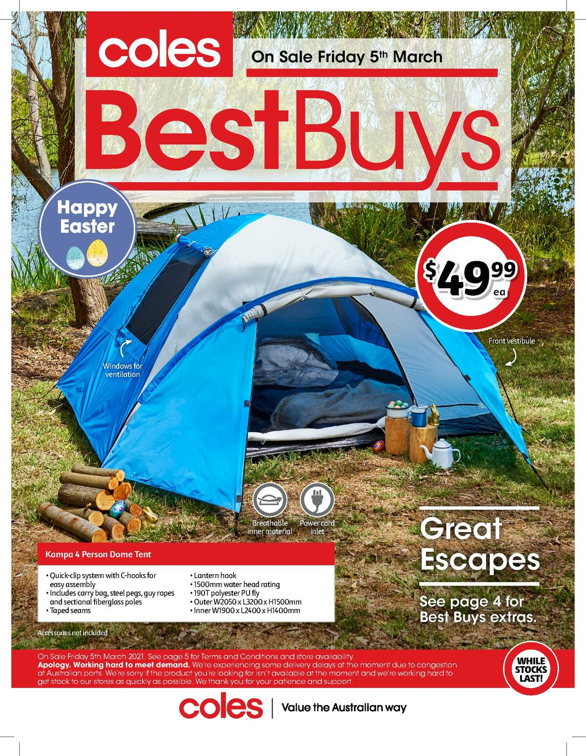 Coles Best Buys Catalogues from March 5