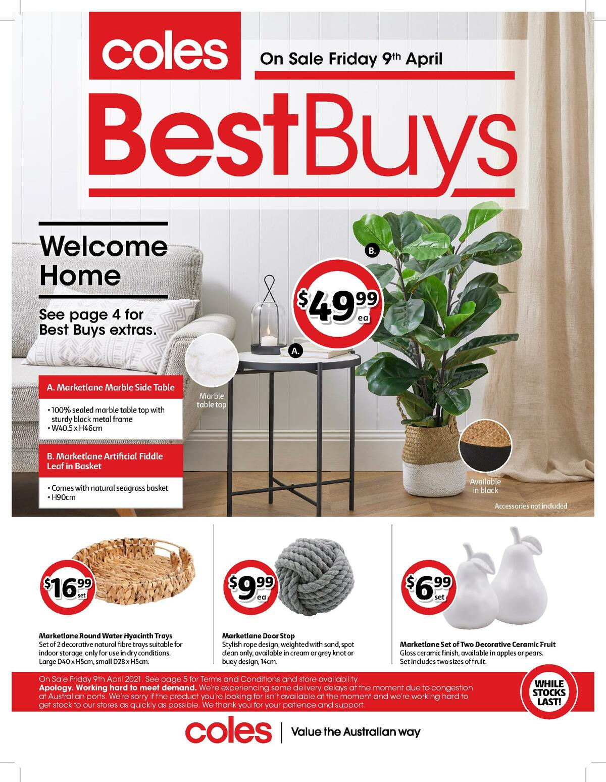 Coles Best Buys Catalogues from April 9
