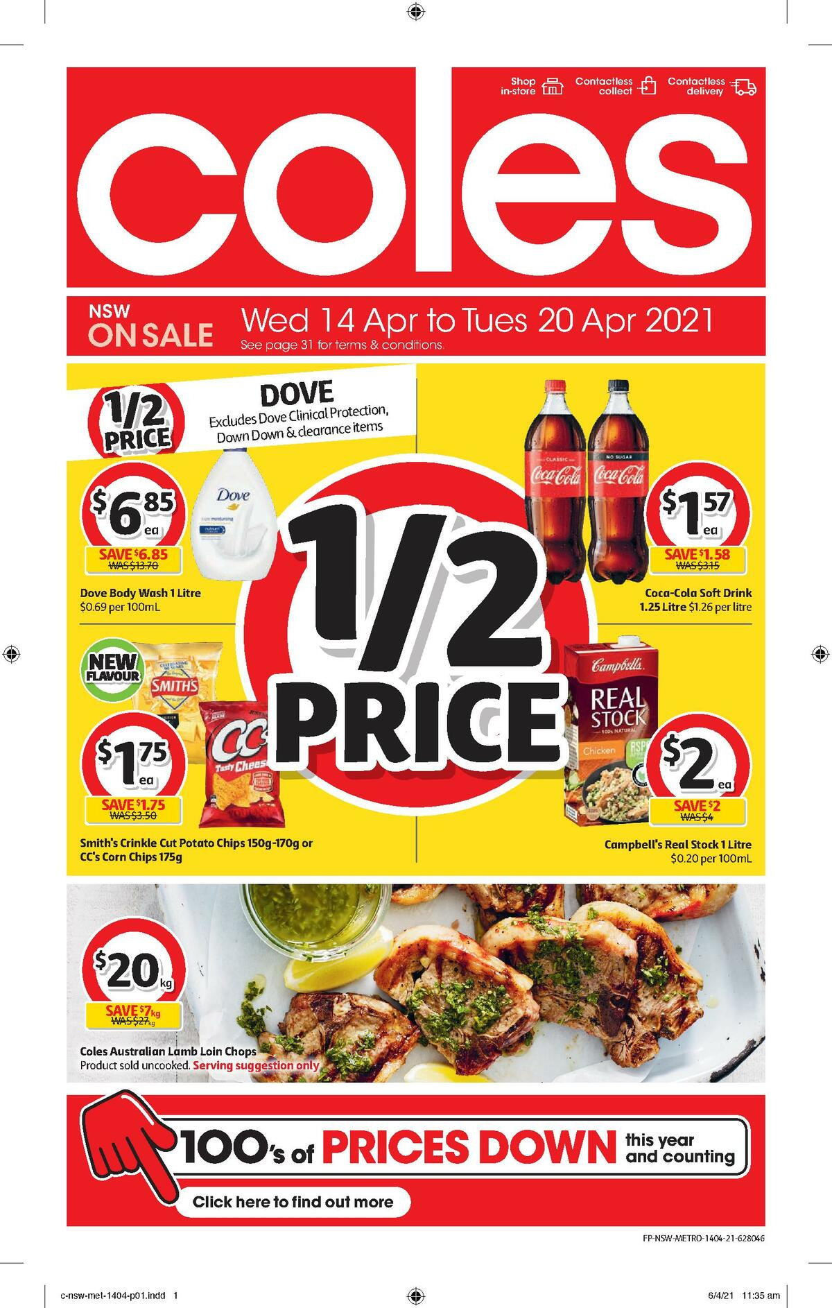 Coles Catalogues from April 14