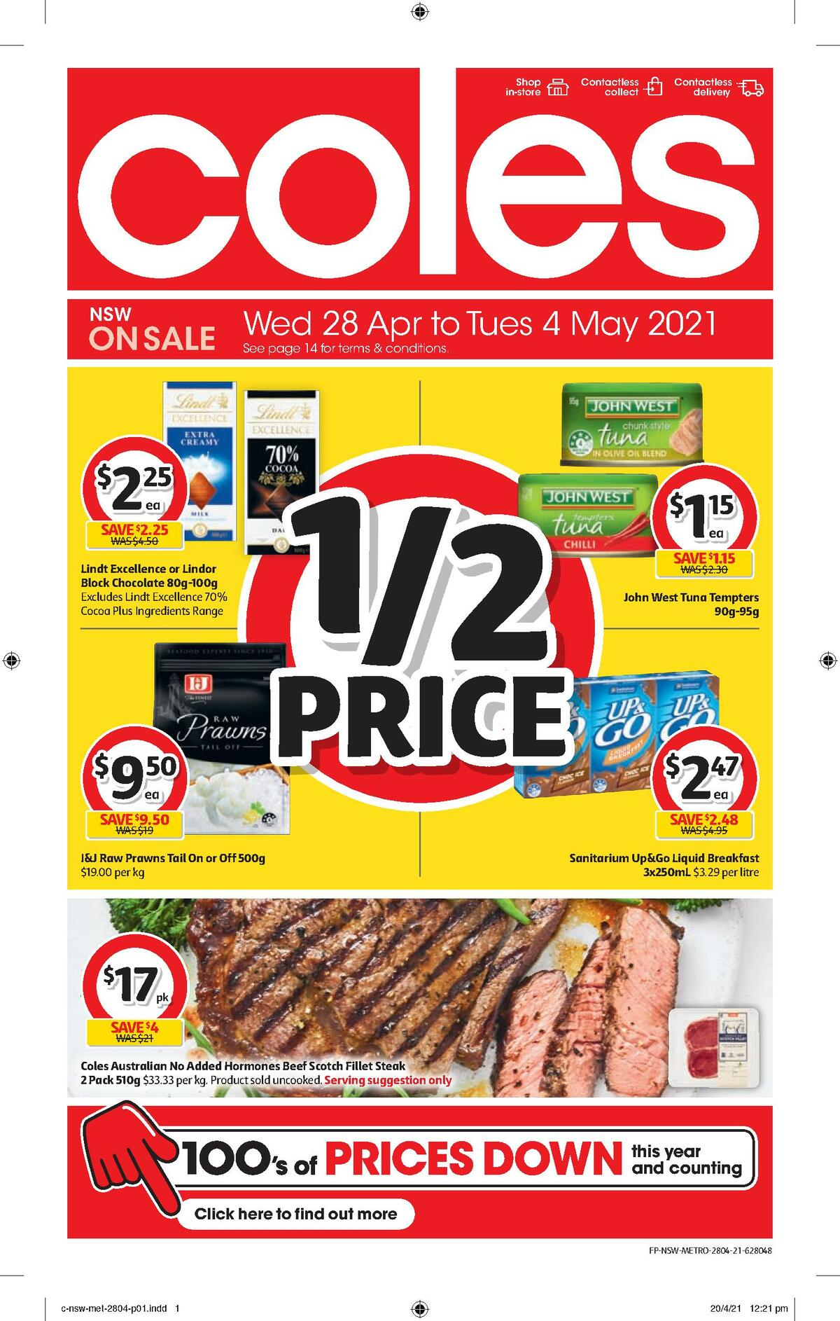 Coles Catalogues from April 28